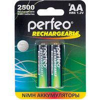 Аккумулятор AA Perfeo AA2500MAH-2BL, Ni-MH, 2500 mAh, 1.2 V (в упаковке 2 шт., цена за 1 шт.). Интернет-магазин Vseinet.ru Пенза