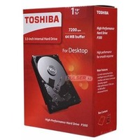 Фото Жесткий диск HDD  Toshiba P300 HDWD110EZSTA, 1000Гб, SATA 6Gb/s, 7200 об/мин, 64 Мб. Интернет-магазин Vseinet.ru Пенза