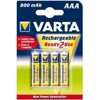 аккумулятор Varta Ready2Use R03 / 800mAh / BL4 56703.101.404/414. Интернет-магазин Vseinet.ru Пенза