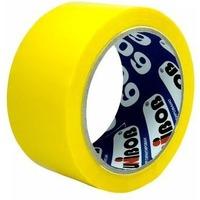 Клейкая лента упаковочная Unibob 600 41153 желтая шир.48мм дл.66м 45мкр. Интернет-магазин Vseinet.ru Пенза
