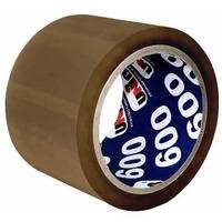 Клейкая лента упаковочная Unibob 600 41165 коричневая шир.72мм дл.66м 45мкр. Интернет-магазин Vseinet.ru Пенза
