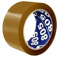 Клейкая лента упаковочная Unibob 805 41170 коричневая шир.50мм дл.66м 50мкр. Интернет-магазин Vseinet.ru Пенза