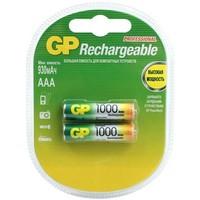 аккумулятор GP 100AAAHC / R03 (1000 mAh) BL2 (2/20). Интернет-магазин Vseinet.ru Пенза