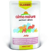 Almo Nature New! Паучи Тунец и Креветки в Желе для кошек (Classic Nature Jelly - Tuna and Shrimps) 5045. Интернет-магазин Vseinet.ru Пенза