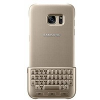 Чехол-клавиатура Samsung для Samsung Galaxy S7 edge Keyboard Cover золотистый (EJ-CG935UFEGRU). Интернет-магазин Vseinet.ru Пенза