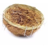 Benelux Гнездо для канареек (бамбук/кокос) ø11.5 см (Bird nest bamboo/coco canaries) 14550. Интернет-магазин Vseinet.ru Пенза
