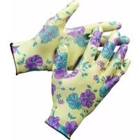 Перчатки Grinda 11295-XL садовые, прозрачное нитриловое покрытие, размер L-XL, зеленые. Интернет-магазин Vseinet.ru Пенза