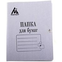 Папка на завязках Бюрократ PZ220 картон 0.35мм 220г/м2 белый. Интернет-магазин Vseinet.ru Пенза