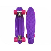Скейтборд EcoBalance Cruiser Board Purple Red. Интернет-магазин Vseinet.ru Пенза