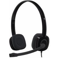 Logitech Stereo Headset H151 Black 981-000589. Интернет-магазин Vseinet.ru Пенза