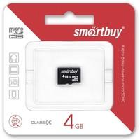 Карта памяти SmartBuy micro SDHC 4Гб, Class 10(SB4GBSDCL10-00). Интернет-магазин Vseinet.ru Пенза