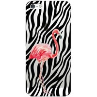 Чехол-крышка DEPPA Art Case iPhone 5/5s Jungle Фламинго (100150). Интернет-магазин Vseinet.ru Пенза