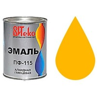 """Эмаль ПФ-115 (Желтая 0.8 кг """"Витеко""""). Интернет-магазин Vseinet.ru Пенза"""