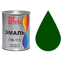 """Эмаль ПФ-115 (Зеленая 0.8 кг """"Витеко""""). Интернет-магазин Vseinet.ru Пенза"""