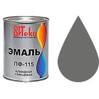 """Эмаль ПФ-115 (Серая 0.8 кг """"Витеко""""). Интернет-магазин Vseinet.ru Пенза"""
