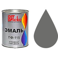 """Эмаль ПФ-115 (Серая 1.8 кг """"Витеко""""). Интернет-магазин Vseinet.ru Пенза"""