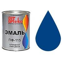 """Эмаль ПФ-115 (Синяя 0.8 кг """"Витеко""""). Интернет-магазин Vseinet.ru Пенза"""
