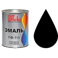 """Эмаль ПФ-115 (Черная 0.8 кг """"Витеко""""). Интернет-магазин Vseinet.ru Пенза"""