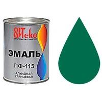 """Эмаль ПФ-115 (Ярко-зеленая 0.8 кг """"Витеко""""). Интернет-магазин Vseinet.ru Пенза"""