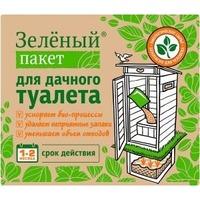 Сухая смесь Зеленый пакет для дачного туалета 30гр, арт. 112. Интернет-магазин Vseinet.ru Пенза