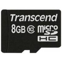 Карта памяти micro SDHC Transcend Premium 8 Гб, Class 10 (TS8GUSDC10). Интернет-магазин Vseinet.ru Пенза