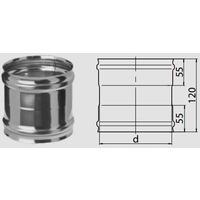Адаптер ММ (430/0,5 мм) Ф125 fm16.125.1.F. Интернет-магазин Vseinet.ru Пенза