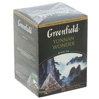 Чай черный Greenfield, Yunnan Wonder, 20 пакетиков*2 г. Интернет-магазин Vseinet.ru Пенза