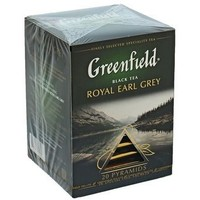 Чай черный Greenfield Royal Earl Grey 20 пакетиков*2г. Интернет-магазин Vseinet.ru Пенза