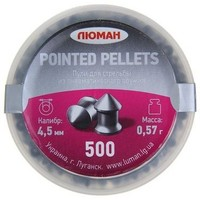 "Пули ""Люман"" Pointed pellets, 0,57 г. по 500 шт.. Интернет-магазин Vseinet.ru Пенза"