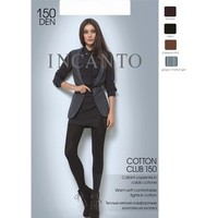 Колготки женские INCANTO Cotton Club 150 (grigio melange, 4). Интернет-магазин Vseinet.ru Пенза