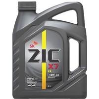 Моторное масло ZIC X7 10W-40, LS синт 4л. Интернет-магазин Vseinet.ru Пенза