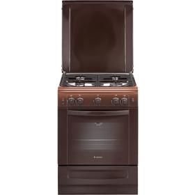 Плита Gefest ПГ 6100-01 0001 газовая коричневая