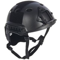 Шлем для страйкбола KINGRIN FAST helmet PJ version low version (Black) HL-09-PJ-BK. Интернет-магазин Vseinet.ru Пенза
