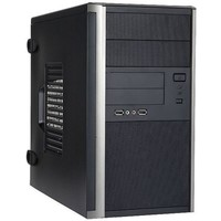 Корпус IN WIN EMR035, 450W, microATX, чёрный 2xUSB/Audio. Интернет-магазин Vseinet.ru Пенза