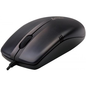 Мышь проводная A4Tech OP-530NU, USB, черная
