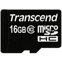 Карта памяти Transcend micro SDHC 16Гб, Class 10, адаптер SD (TS16GUSDHC10). Интернет-магазин Vseinet.ru Пенза