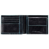 Кошелек мужской Piquadro Blue Square (PU1240B2/N) черный телячья кожа. Интернет-магазин Vseinet.ru Пенза
