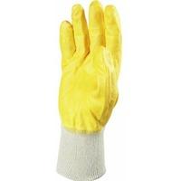 Перчатки х/б нитрил покрыт (частичн), манжет мягкий, желтые (пара). Интернет-магазин Vseinet.ru Пенза