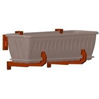 Крепление для балконных ящиков универсальное (комплект 2шт.) М3229. Интернет-магазин Vseinet.ru Пенза