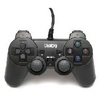Фото Геймпад DIALOG GP-A11 Action - вибрация, 12 кнопок, USB, черный. Интернет-магазин Vseinet.ru Пенза
