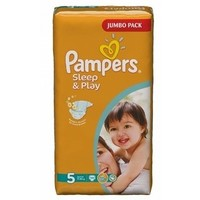 Подгузники PAMPERS Sleep and Play Junior (11-18 кг), 58 шт. Интернет-магазин Vseinet.ru Пенза