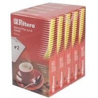 Фильтры для кофе для кофеварок Filtero №2 белый (упак.:200шт). Интернет-магазин Vseinet.ru Пенза