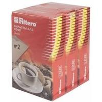 Фильтры для кофе для кофеварок Filtero №2 коричневый (упак.:240шт). Интернет-магазин Vseinet.ru Пенза