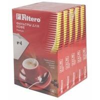 Фильтры для кофе для кофеварок Filtero №4 белый (упак.:200шт). Интернет-магазин Vseinet.ru Пенза