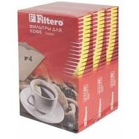Фильтры для кофе для кофеварок Filtero №4 коричневый (упак.:240шт). Интернет-магазин Vseinet.ru Пенза