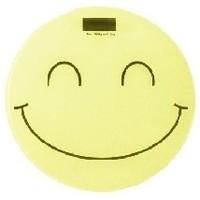 Весы напольные Irit IR-7251, желтый с рисунком «смайлик». Интернет-магазин Vseinet.ru Пенза