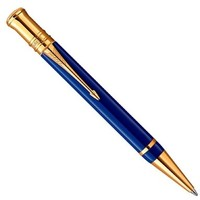 Ручка шариковая Parker Duofold K74 International Historical Colors Lapis Lazuli GT (M). Интернет-магазин Vseinet.ru Пенза