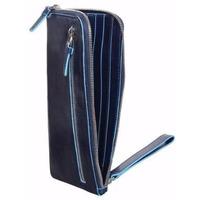 Клатч Piquadro Blue Square (AC2648B2/BLU2) синий телячья кожа. Интернет-магазин Vseinet.ru Пенза