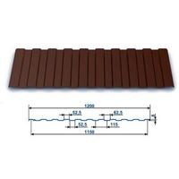 Профнастил окрашенный С-8 Шоколад 8017 (2,0 х 1.2 х 0.45) г.Пенза. Интернет-магазин Vseinet.ru Пенза