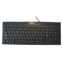 Клавиатура IVT SW-K11 SLIM проводная, USB, черный. Интернет-магазин Vseinet.ru Пенза